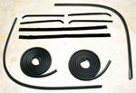 1962 Door weatherstrip kit, both front doors