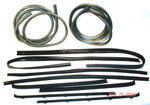1978 Door weatherstrip kit, both front doors