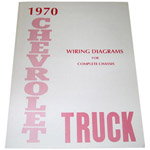 1970 Wiring diagrams, Chevrolet only