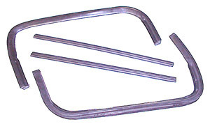 1955 Front wing vent rubber weather strip, does both doors
