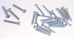 1950 Windshield frame mounting screws, set of 24