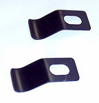 1950 Interior windshield vertical trim clips, for center post only