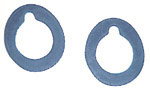 1950 Wiper transmission outer gaskets, pair