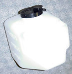 1965 Wiper washer reservoir (jar) and cap, reproduction
