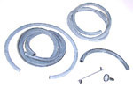 1980 Wiper washer hose kit, pickup
