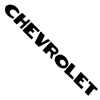 1952 Tailgate decals, black block letters